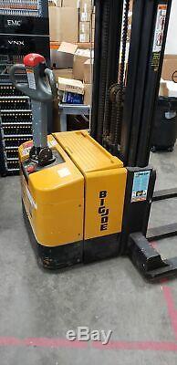 Big Joe Walk-Behind Forklift Includes Battery Charger
