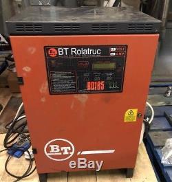 Bt Rollatruc Forklift Single Phase Battery Charger R D 165 48 Volt 60 Amp