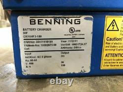 CR18HF3-150 PowerHouse IHF 36V Forklift Battery Charger 150A 480VAC 9A