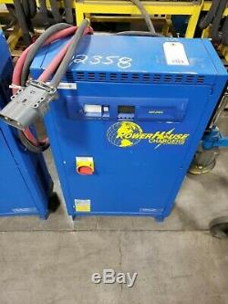 CROWN POWERHOUSE CHARGER 48V CR24HF3-240 Forklift Battery Charger up to 24 Cell