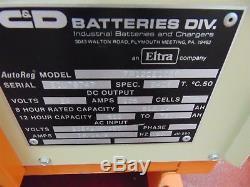 C&D FR12CE105F FERRO Five 24 Volt Forklift Battery Charger
