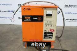 C & D FR12CE750A 24V Forklift Battery Charger, 1PH