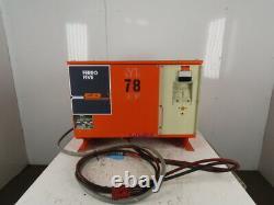 C & D FR12HK550M Electric Forklift Battery Charger 24V 550 AH 208-230/460V 3Ph