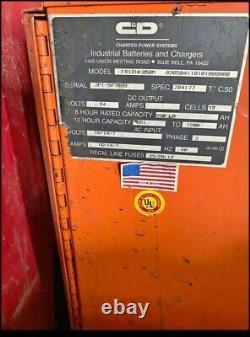 C&D FR12HK850M Forklift Battery Charger Phase 3