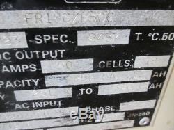 C&D FR18C/E50C 36V Forklift Battery Charger 18 Cell 208/240/480V 1PH 360AH