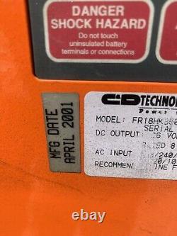 C&D FR18HK850 Ferro Five FR Series 36V Fork Lift Battery Charger