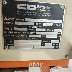 C&D FR24HKK750 A Forklift Battery Charger 48 volts