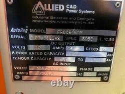 C & D FR6CE450M 12V Battery Charger 450 LA 12VDC 95A 6 CELL 240/480V 1Ph