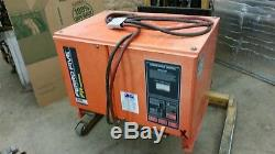 C&D Ferro Five electric fork lift Battery Charger 36v 208/230/460 3 phase