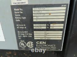 Cen Electronics Forklift Battery Charger 12V 600AH 240/480V Input Single Phase