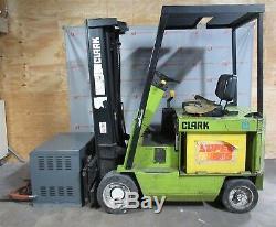 Clark ECS20 Forklift GNB SCRFLX-16-865T1Z 36 Volt Battery Charger