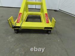 Custom Telescoping Forklift Mobile Crane Jib Double Boom Attachment