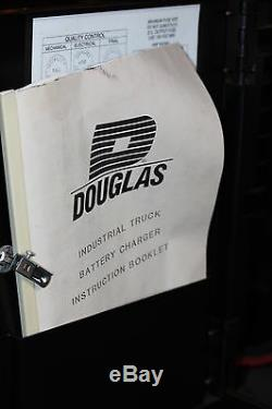 DBS3B6-475 Douglas 3 Phase Automatic Forklift Industrial 12 Volt Battery Charger