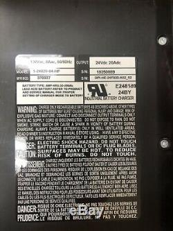 DPI 620W Battery Charger Accusense HF Series Fork Lift Golf Cart 24volt