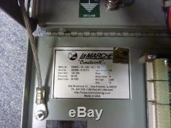 Det-Tronics EQ2110PS with LAMARCHE A36DN-10-24V-A1-12L Battery Float Charger