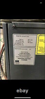 EHF48T150 48 Volt 1000 AH High Frequency Forklift Battery Charger