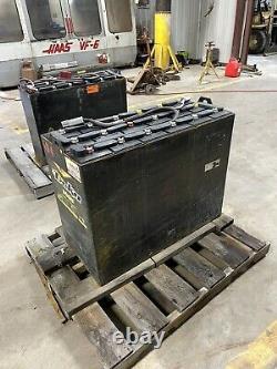 Electric Forklift Battery 18-125-15, 36 Volt, 875