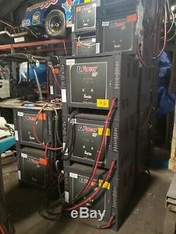 EnerSys EnForcer HF Forklift 48 Volt CHARGER EH3-24-1500 3-Phase 1500 AH