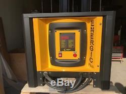 Energic Plus Single Phase 36 Volt Forklift Battery Charger, 1PH, 208/240/480V