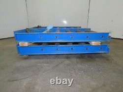 Enersys 21 W x 40 D Forklift Battery Handling Roller Service Stand Lot Of 4