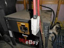 Enersys Depth Forklift Charger D3G-18-1050 In 208/240/480V 3 Phase Out 36V 168A