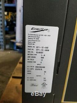 Enersys EnForcer Ferro 24v 208v 1ph Digital Forklift Charger Great Condition