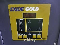 Exide 24 VDC Forklift Battery Charger 12 Cell 208/480 Vac 1 Phase Wg1-12-550