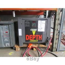 Exide 36V Electric Forklift Battery Charger 1050AH 208/240/480 3PH