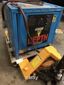 Exide 36V Forklift Battery Charger