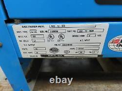 Exide D3E-12-550 Forklift Battery Charger, 24V, 550Ah, 88A, 208/240/480v 3ph