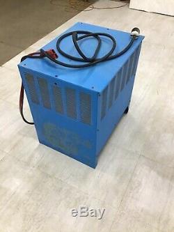 Exide Depth Forklift Battery Charger D3E-12-680, 24V 109AMPS
