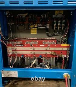 Exide Depth Forklift Battery Charger D3E-12-680 24V L-A 109AMPS 208/240/480V