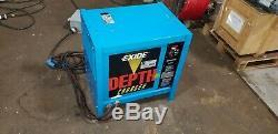 Exide Depth Forklift Battery Charger D3E-24-950B 03 48v 950 AH 3PH