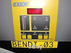 Exide Gold IRONCLAD WG3-24-680 Forklift Battery Charger AMP hrs 680 3-Phase 48V