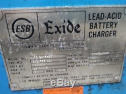 Exide NPC-18-3-550 Lead Acid Battery Charger Fork Lift Charger