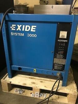 Exide Seystem 3000 Forklift Battery Charger