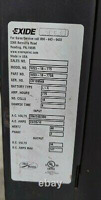 Exide Silver Workhog model WS3-18-775 in Lower Bucks County PA