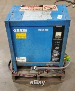 Exide System 3000 ES3-18-850 Forklift Battery Charger 36 Volt