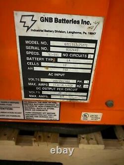 FORKLIFT CHARGER GNB Ferrocharger GTC1112-750T1 Industrial Battery Charger