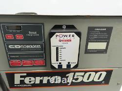 Ferro 1500 VFR18K750S Forklift Battery Charger 36V 750Ah, 126A, 208-240/480v 3ph