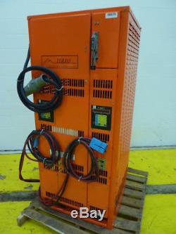 Ferro Control Forklift Battery Charger EMP24-865B3-2 PF-2 Used #56679
