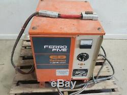 Ferro Five 24V 1 phase Forklift Battery Charger FR12CE450 85A 12 Cell