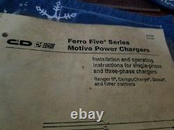Ferro Five Forklift Battery Charger 12 Volt Hd Golf Cart Hd Truck Fr6ce510a