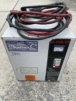 Forklift Battery 24Volt With Charger. Type 12-85S-7 Capacity 255 A. H SP. GR 1.290