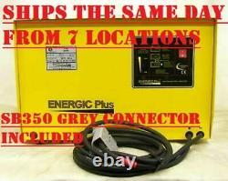 Forklift Battery Charger 48 Volt 60 Amp 240v Single Phase Amp H 282-330 Warranty