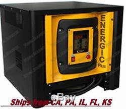Forklift Battery Charger 48 Volts Single Phase Digital 48v 100 Amp 100a