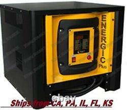 Forklift Battery Charger Digital 24v Volts 40 Amp 3 Phase 220 Ah 208-240-480 V