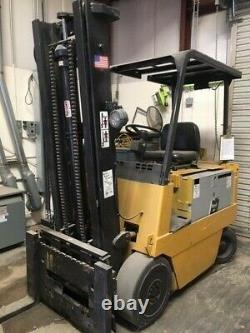 Forklift Caterpillar Electric Model M70B with48V Battery Charger- 8k lb Capacity