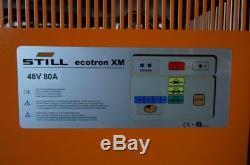 Forklift Charger NEW 48V 80 A original STILL Ecotron XM