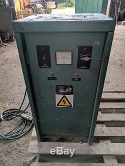 Forklift Single Phase Battery Charger 12 Cells At 75 Amps